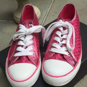 Pink sparkle Got to Flurt sneakers